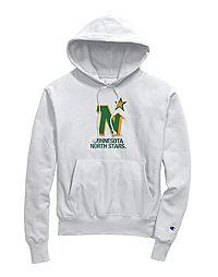Exclusive Champion Life® Men's Reverse Weave® NHL Hoodie, Minnesota North Stars Vintage Marks Series 1967-68