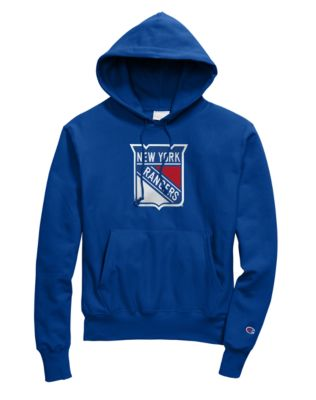 Exclusive Champion Life® Men's Reverse Weave® NHL Hoodie, New York Rangers Vintage Marks Series 1976-77