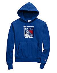 Exclusive Champion Life® Men's Reverse Weave® NHL Hoodie, New York Rangers Vintage Marks Series 1976-77