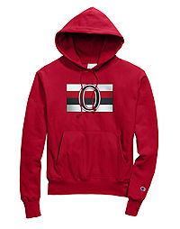 Exclusive Champion Life® Men's Reverse Weave® NHL Hoodie, Ottawa Senators Vintage Marks Series 1917-18