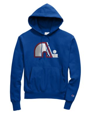 Exclusive Champion Life® Men's Reverse Weave® NHL Hood, Quebec Nordiques Vintage Marks Series 1979-80