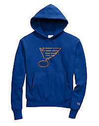 Exclusive Champion Life® Men's Reverse Weave® NHL Hoodie, St Louis Blues Vintage Marks Series 1970