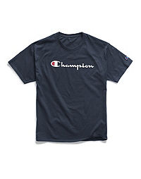 Champion Life® Men's Big & Tall Tee, Script Logo