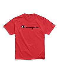 Champion Life® Men's Big & Tall Tee, Script Logo