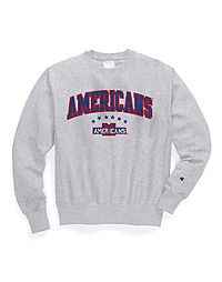 Exclusive Champion Life® Men's Reverse Weave® NHL Crew, Vintage NY Americans