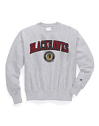Exclusive Champion Life® Men's Reverse Weave® NHL Crew, Vintage Chicago Blackhawks