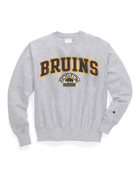 bff483d9 Exclusive Champion Life® Men's Reverse Weave® NHL Crew, Vintage Boston  Bruins | Champion
