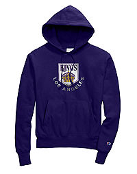Exclusive Champion Life® Men's Reverse Weave® NHL Hoodie, Vintage LA Kings