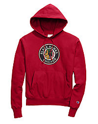 Exclusive Champion Life® Men's Reverse Weave® NHL Hoodie, Vintage Chicago Blackhawks