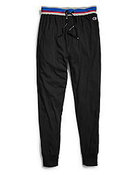 Champion Men's Sleep Joggers, Black