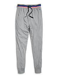 Champion Men's Sleep Joggers, Oxford Grey Heather