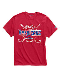 Exclusive Champion Men's NHL Tee, New York Americans Vintage Marks Series 1936-37