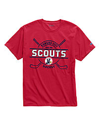 Exclusive Champion Men's NHL Tee, Kansas City Scouts Vintage Marks Series 1974-75