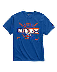 Exclusive Champion Men's NHL Tee, New York Islanders Vintage Marks Series 1972
