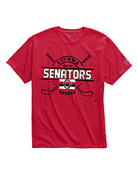 Exclusive Champion Men's NHL Tee, Ottawa Senators Vintage Marks Series 1917-18