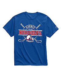 Exclusive Champion Men's NHL Tee, Quebec Nordiques Vintage Marks Series 1979-80