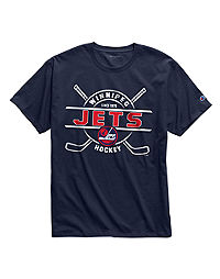 Exclusive Champion Men's NHL Tee, Winnipeg Jets Vintage Marks Series 1979-80