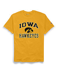 Champion Men's NCAA Iowa Hawkeyes Tee