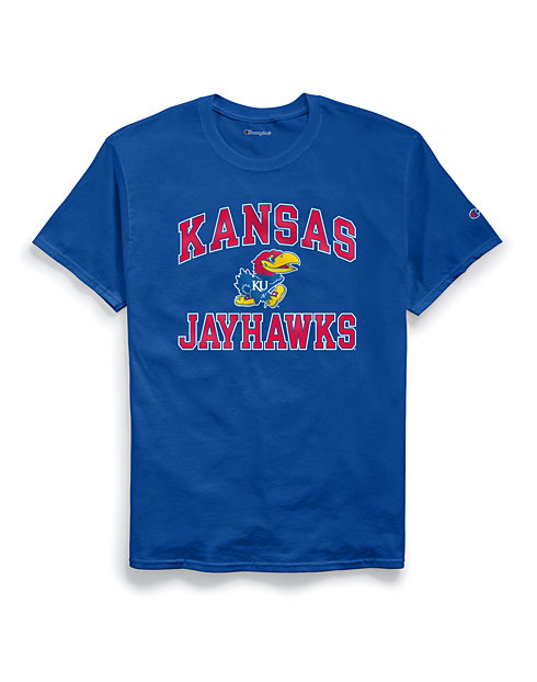 Champion Men's NCAA Kansas Jayhawks Tee