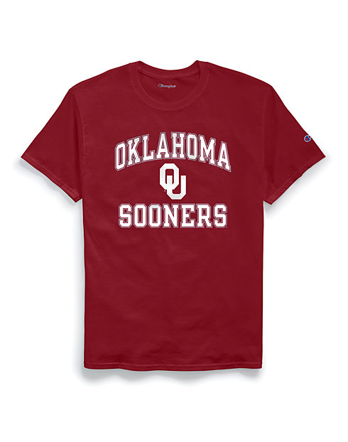 Champion Men's NCAA Oklahoma Sooners Tee