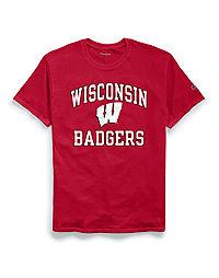 Champion Men's NCAA Wisconsin Badgers Tee