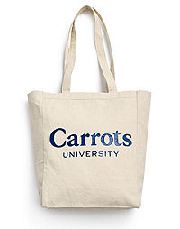 Exclusive Carrots University by Champion Life® Canvas Bag
