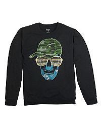 Hanes Boys' FreshIQ™ Fleece Crewneck Graphic Sweatshirt