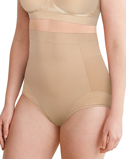 Bali Comfort Revolution Firm Control High Waist Brief