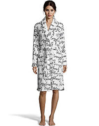 Dearfoams Shawl Collar Robe