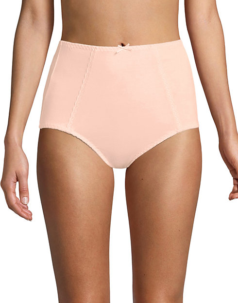 Bali Essentials Cotton Double Support Brief, 3-Pack