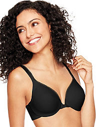 Hanes Ultimate ComfortBlend® T-Shirt Front-Close Underwire Bra