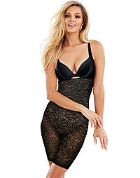 Maidenform Lace Open Bust Body Shaper