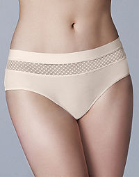 WonderBra Matching Light Control Hipster Panty With Geo Mesh
