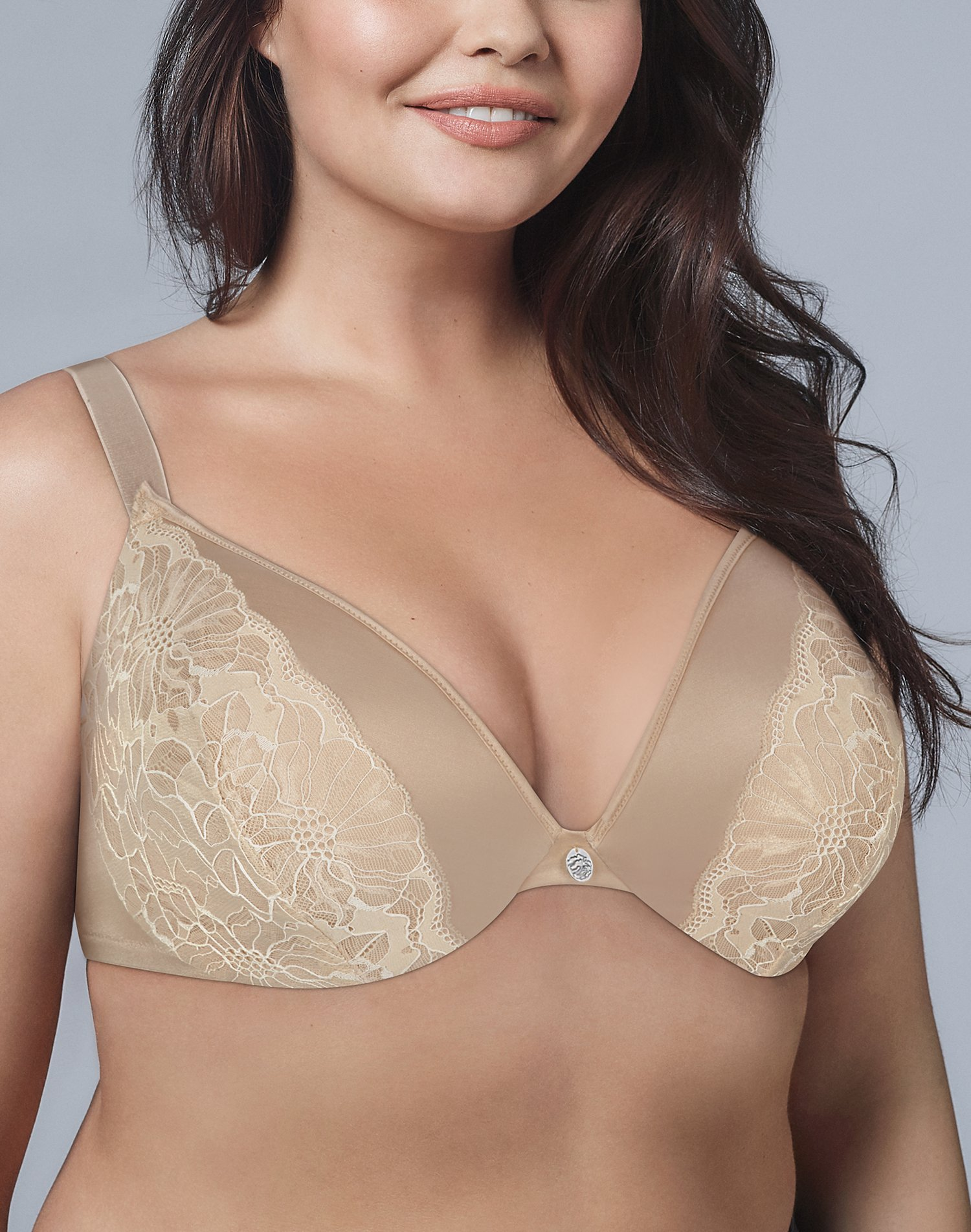 WonderBra Plus Embellished Plunge Underwire Bra