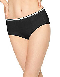 Hanes Women's Cool Comfort™ Cotton Stretch Brief Panties 8-Pack