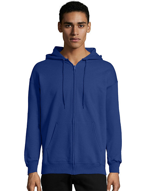 Hanes Men s Zip Hoodie - Ultimate Cotton Heavyweight  d3dcc4f34