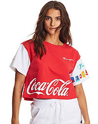 Champion Life® x Coca Cola Women's Cropped Tee