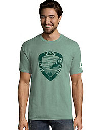 Hanes Men's ComfortWash™ Blue Ridge Parkway National Park Short Sleeve Tee