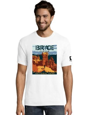 Hanes ComfortWash™ Bryce Canyon National Park Graphic Short Sleeve Tee