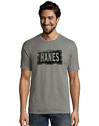 Hanes Men's ComfortWash™ Distressed Retro Flag Short Sleeve Tee