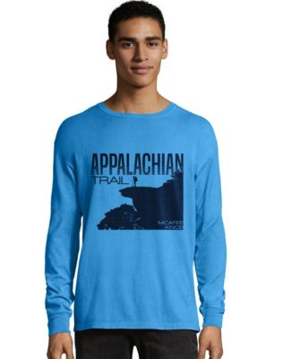 Hanes Men's ComfortWash™ Appalachian Trail McAfee Knob Long Sleeve Tee