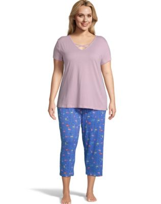 Goodnight Kiss™ Plus Sleep Capri Set