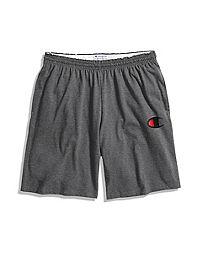 Champion Men's Classic Jersey Shorts, Big C Logo