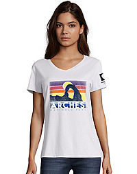 Hanes  Arches National Park Women's Graphic Tee