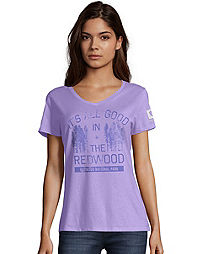 Hanes Redwood National Park Women's Graphic Tee