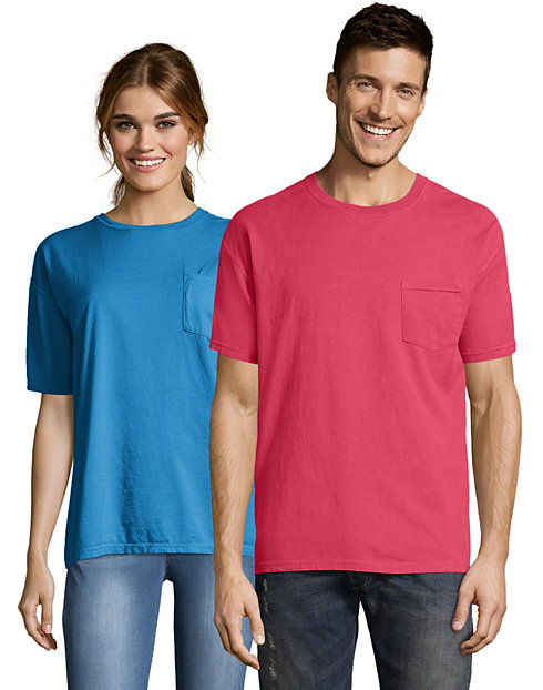 f9427adb463c Hanes Adult ComfortWash™ Garment Dyed Short Sleeve Pocket Tee
