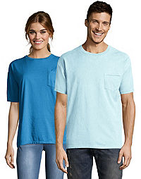Hanes Adult ComfortWash™ Garment Dyed Short Sleeve Pocket Tee