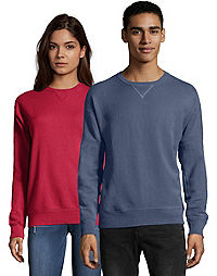 Hanes Adult ComfortWash™ Garment Dyed Fleece Sweatshirt