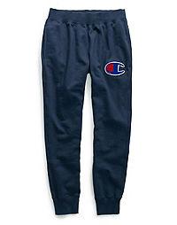 Champion Life® Men's Reverse Weave® Joggers, Big C Chenille Logo