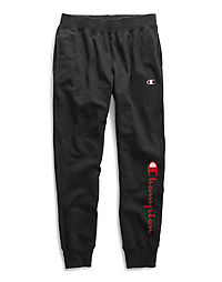 Champion Life® Men's Reverse Weave® Joggers, 90's Flocked Logo